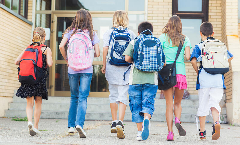 The Top 6 Issues Most People Have About Their Current Homes School Kids Image